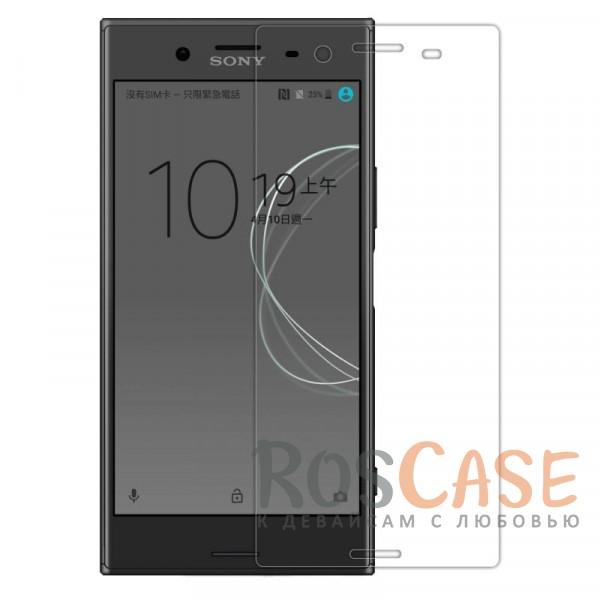 Прозрачная глянцевая защитная пленка Nillkin Crystal на экран с гладким пылеотталкивающим покрытием для Sony Xperia XZ PremiumОписание:бренд&amp;nbsp;Nillkin;совместимость - Sony Xperia XZ Premium;материал: полимер;тип: прозрачная пленка;ультратонкая;защита от царапин и потертостей;фильтрует УФ-излучение;размер пленки - 68*152 мм.<br><br>Тип: Защитная пленка<br>Бренд: Nillkin