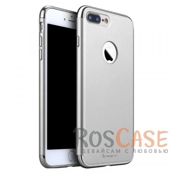 Чехол iPaky Joint Series для Apple iPhone 7 plus (5.5) (Серебряный)Описание:производитель - iPaky;совместим с Apple iPhone 7 plus (5.5);материал: поликарбонат;форма: накладка на заднюю панель.Особенности:блестящая окантовка;матовый;стильный дизайн;ультратонкий;защита камеры и экрана благодаря выступающим краям;надежная фиксация.<br><br>Тип: Чехол<br>Бренд: Epik<br>Материал: TPU
