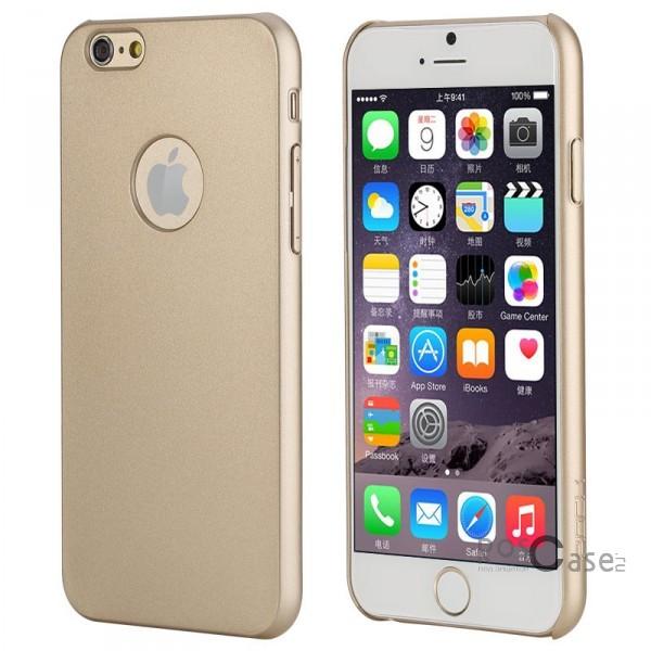 Пластиковая накладка Rock Glory Series для Apple iPhone 6/6s plus (5.5) (Золотой / Gold)Описание:производитель  -  Rock;совместимость: Apple iPhone 6/6s plus (5.5);материал  -  поликарбонат;тип  -  накладка.&amp;nbsp;Особенности:соответствие всех вырезов функциям;прозрачный;не трескается;надежная система крепления;на нем не видны отпечатки пальцев;яркие цвета.<br><br>Тип: Чехол<br>Бренд: ROCK<br>Материал: Пластик