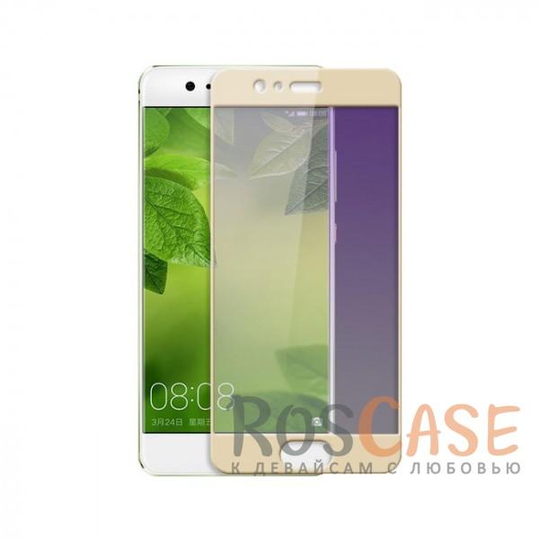 Ультратонкое защитное стекло с цветной рамкой на весь экран с олеофобным покрытием для Huawei P10 (Золотой)Описание:совместимо с&amp;nbsp;Huawei P10;полностью закрывает экран;цветная рамка;ультратонкое - 0,33 мм;высокая прочность 9H;олеофобное покрытие анти-отпечатки.<br><br>Тип: Защитное стекло<br>Бренд: Epik