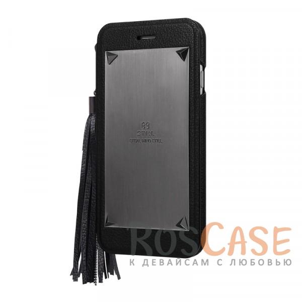 Кожаный чехол-книжка STIL Love Triangle Series для Apple iPhone 6/6s (4.7) (+ карман для визиток) (Черный)Описание:бренд&amp;nbsp;STIL;подходит для&amp;nbsp;Apple iPhone 6/6s (4.7);материалы - синтетическая кожа, пластик;тип - чехол-книжка.<br><br>Тип: Чехол<br>Бренд: Stil<br>Материал: Искусственная кожа