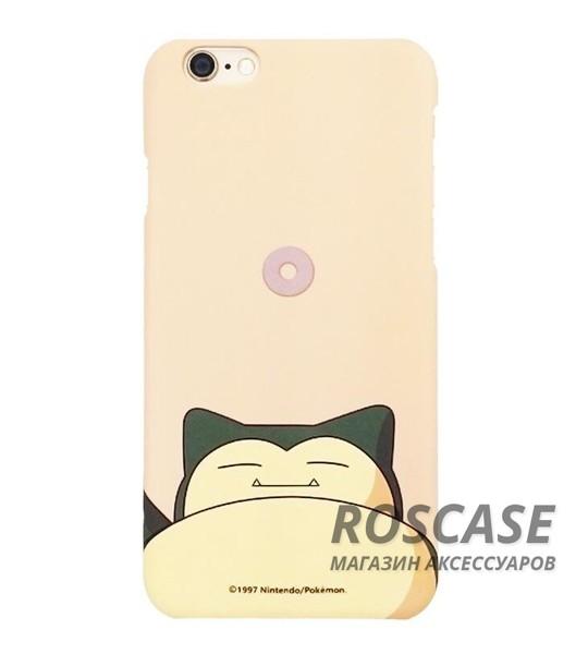 Ультратонкий цветной TPU чехол Pokemon Go для Apple iPhone 6/6s (4.7) (Snorlax)Описание:разработан для&amp;nbsp;Apple iPhone 6/6s (4.7);материал: термопластичный полиуретан;форма: накладка.&amp;nbsp;Особенности:ультратонкий дизайн;оригинальный принт (покемоны);эластичный и гибкий;плотное прилегание;полный набор функциональных вырезов.<br><br>Тип: Чехол<br>Бренд: Epik<br>Материал: TPU
