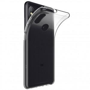 Clear Case | Прозрачный TPU чехол 2мм для Xiaomi Redmi Note 5 Pro / Note 5 (Dual camera)