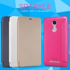Nillkin Sparkle | Чехол-книжка с функцией Sleep Mode  для Xiaomi Redmi Note 3 (Pro)