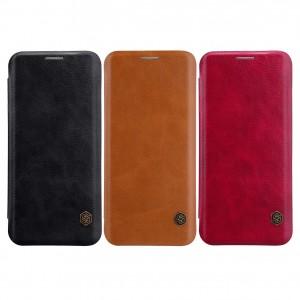 Nillkin Qin натур. кожа | Чехол-книжка для Samsung Galaxy S9 Plus