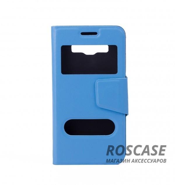 Чехол (книжка) с TPU креплением для Samsung A300H / A300F Galaxy A3 (Голубой)Описание:компания разработчик: Epik;совместимость с устройством модели: Samsung A300H / A300F Galaxy A3;материал изделия: искусственная кожа и термополиуретан;конфигурация: обложка в виде книжки.Особенности:всесторонняя защита смартфона;высокий класс износоустойчивости;функция подставки;имеет два окошка;имеет все функциональные отверстия.<br><br>Тип: Чехол<br>Бренд: Epik<br>Материал: Искусственная кожа