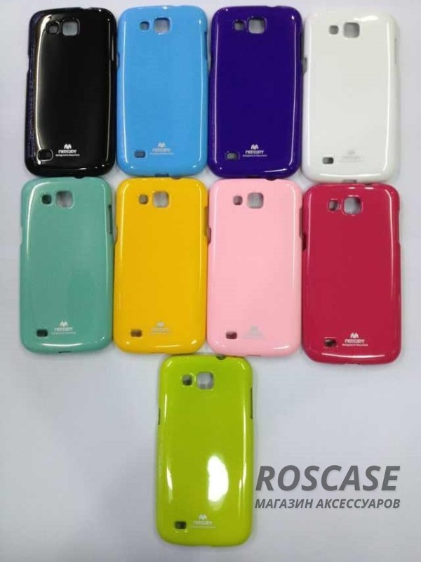 фото Розовый TPU чехол Mercury Jelly Color series для Samsung i9300 Galaxy S3
