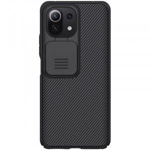 Nillkin CamShield   Пластиковый чехол с защитой камеры  для Xiaomi Mi 11 Lite