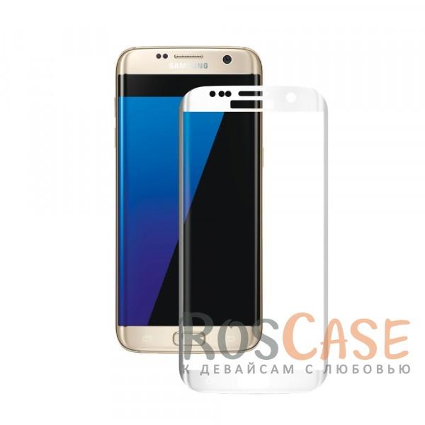 Защитное стекло 3D CaseGuru Tempered Glass для Samsung G935F Galaxy S7 Edge (Белое)<br><br>Тип: Защитное стекло<br>Бренд: CaseGuru