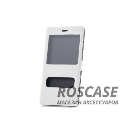 Чехол (книжка) с PC креплением для Huawei P8 Lite (Белый)Описание:бренд&amp;nbsp;Epik;совместимость: Huawei P8 Lite;материал: искусственная кожа;тип: чехол-книжка.&amp;nbsp;Особенности:фиксация обложки магнитной застежкой;все функциональные вырезы в наличии;защита от ударов и падений;не скользит в руках;окошки в обложке;трансформируется в подставку.<br><br>Тип: Чехол<br>Бренд: Epik<br>Материал: Искусственная кожа