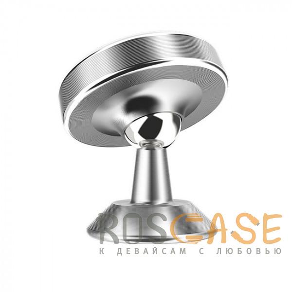 Фотография Серебряный Автомобильный держатель для телефона магнитный Borofone BH5