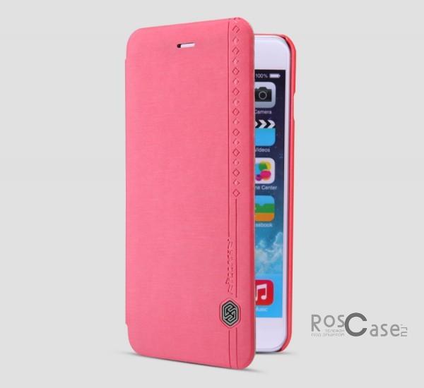 Кожаный чехол (книжка) Nillkin Rain Series для Apple iPhone 6/6s plus (5.5) (+ пленка) (Красный)Описание:производитель  -  компания&amp;nbsp;Nillkin;совместимость - Apple iPhone 6/6s plus (5.5);материалы  -  искусственная кожа, поликарбонат;форма  -  чехол-книжка.&amp;nbsp;Особенности:в наличии все функциональные вырезы;надежная система крепления;тонкий и легкий;пленка в комплекте;защита от ударов и царапин;необычный дизайн.<br><br>Тип: Чехол<br>Бренд: Nillkin<br>Материал: Искусственная кожа