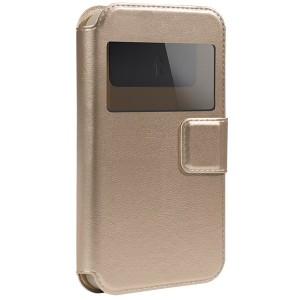 "Gresso ""Норман"" |  чехол-книжка с окошком и магнитом для LG E960 Nexus 4"