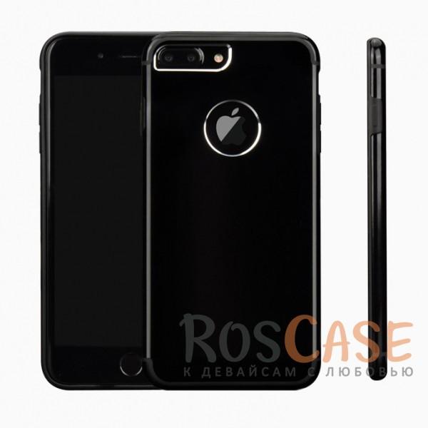 Ультратонкий TPU чехол c металлическими вставками YED для Apple iPhone 7 plus (5.5) (Onyx Black)<br><br>Тип: Чехол<br>Бренд: Epik<br>Материал: Металл