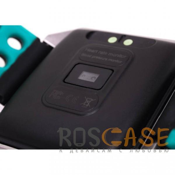 Фото Черный / Голубой Часы CK12 Pro с измерением давления и пульса