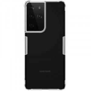 Nillkin Nature | Прозрачный силиконовый чехол  для Samsung Galaxy S21 Ultra