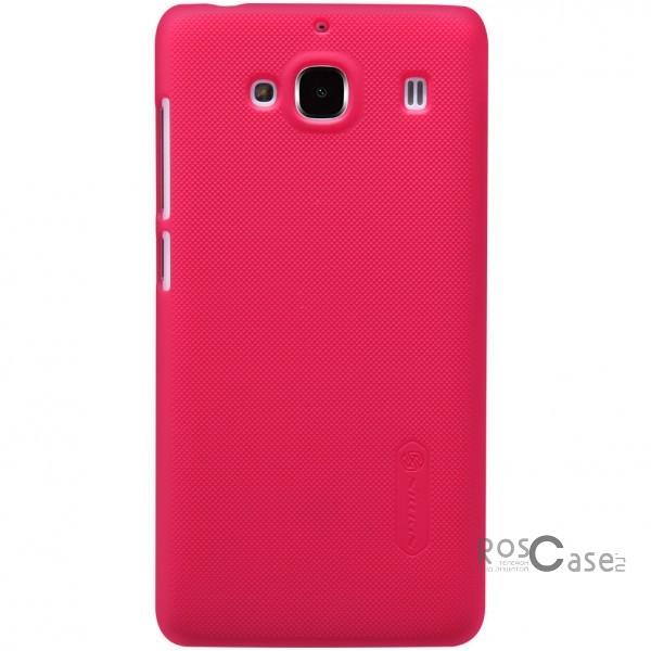 Чехол Nillkin Matte для Xiaomi Redmi 2 (+ пленка) (Красный)Описание:производитель - бренд&amp;nbsp;Nillkin;материал - поликарбонат;совместимость - Xiaomi Redmi 2;тип - накладка.&amp;nbsp;Особенности:матовый;прочный;тонкий дизайн;не скользит в руках;не выцветает;пленка в комплекте.<br><br>Тип: Чехол<br>Бренд: Nillkin<br>Материал: Поликарбонат