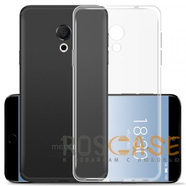 Фотография Бесцветный J-Case THIN   Гибкий силиконовый чехол для Meizu 15 Lite / M15 (China)