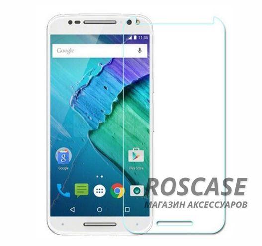 Защитное стекло Ultra Tempered Glass 0.33mm (H+) для Motorola Moto X Style (XT1572) (к. упак)Описание:совместимо с устройством Motorola Moto X Style (XT1572);материал: закаленное стекло;тип: защитное стекло на экран.&amp;nbsp;Особенности:закругленные&amp;nbsp;грани стекла обеспечивают лучшую фиксацию на экране;стекло очень тонкое - 0,33 мм;отзыв сенсорных кнопок сохраняется;стекло не искажает картинку, так как абсолютно прозрачное;выдерживает удары и защищает от царапин;размеры и вырезы стекла соответствуют особенностям дисплея.<br><br>Тип: Защитное стекло<br>Бренд: Epik