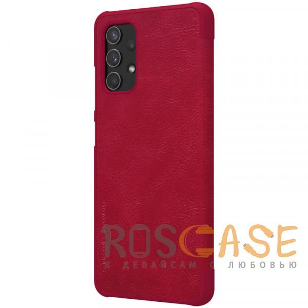 Фотография Красный Nillkin Qin   Чехол-книжка из Premium экокожи для Samsung Galaxy A32 4G