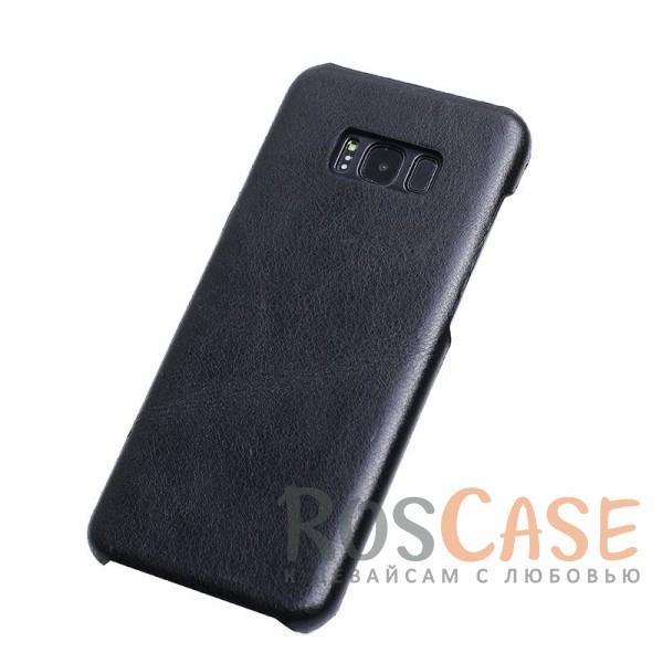 Элегантная накладка из гладкой натуральной кожи для Samsung G955 Galaxy S8 Plus (Черный)Описание:чехол создан для Samsung G955 Galaxy S8 Plus;материал - натуральная кожа;формат - накладка;элегантный дизайн;матовая поверхность.<br><br>Тип: Чехол<br>Бренд: Epik<br>Материал: Натуральная кожа