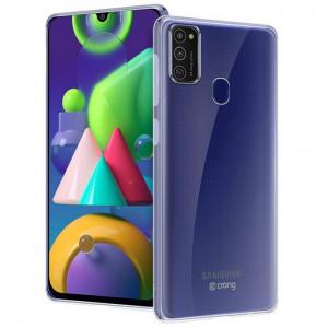 Прозрачный силиконовый чехол  для Samsung Galaxy M21