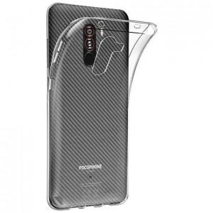 Clear Case   Прозрачный TPU чехол 2мм для Xiaomi Pocophone F1