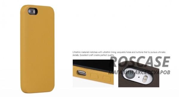фото кожаная накладка ROCK Vogue series для Apple iPhone 5/5S/5SE