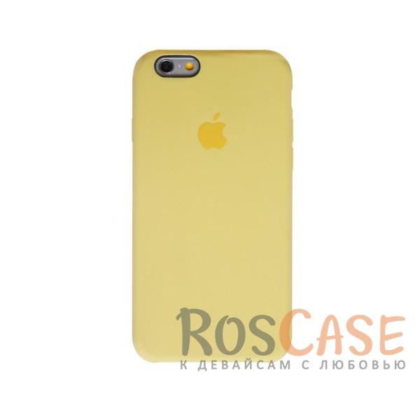 Оригинальный силиконовый чехол для Apple iPhone 6/6s (4.7) (Желтый)Описание:материал - силикон;совместим с Apple iPhone 6/6s (4.7);тип чехла - накладка.<br><br>Тип: Чехол<br>Бренд: Epik<br>Материал: Силикон