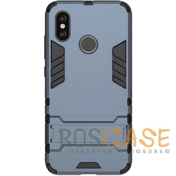 Transformer | Противоударный чехол для Xiaomi Mi 8 с мощной защитой корпуса (Серый / Metal slate), , Чехлы