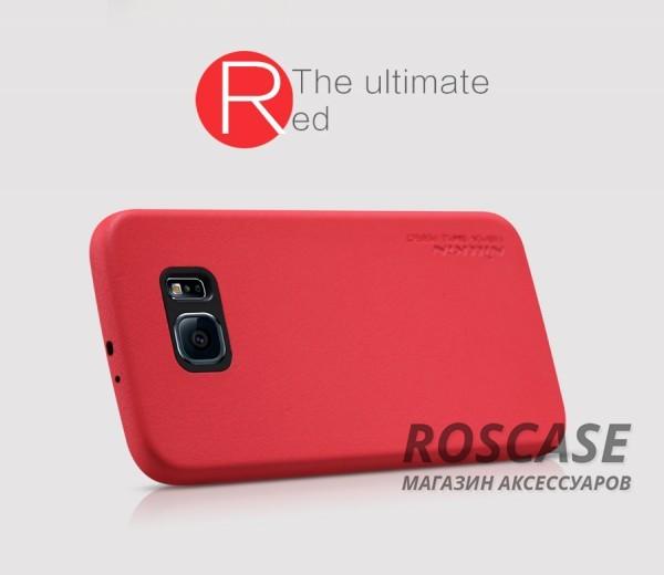 Чехол накладка Nillkin Victoria Series для Samsung Galaxy S6 G920F/G920D Duos (Красный)Описание:производитель  -  фирма&amp;nbsp;Nillkin;разработан специально для Samsung Galaxy S6 G920F/G920D Duos;материал  -  искусственная кожа;тип  -  накладка.&amp;nbsp;Особенности:мягкая на ощупь;все функциональные вырезы на своих местах;не остаются отпечатки пальцев;тонкий дизайн;защищает от царапин и падений;не скользит.<br><br>Тип: Чехол<br>Бренд: Nillkin<br>Материал: Искусственная кожа