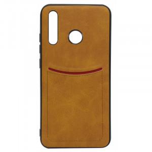 ILEVEL | Чехол с кожаным покрытием и карманом  для Huawei Honor 20i