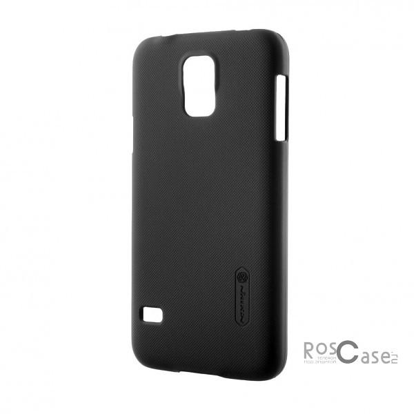 Матовый чехол для Samsung G900 Galaxy S5 (+ пленка) (Черный)Описание:Изготовлен компанией Nillkin;Спроектирован персонально для Samsung G900 Galaxy S5;Материал: высококачественный пластик;Форма: накладка.Особенности:Исключается появление царапин и возникновение потертостей;Восхитительная амортизация при любом ударе;Гладкая матовая поверхность;Элегантный, изящный дизайн;Не подвержен деформации;Непритязателен в уходе.<br><br>Тип: Чехол<br>Бренд: Nillkin<br>Материал: Поликарбонат
