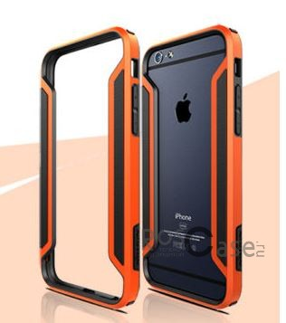 Бампер Nillkin Armor-Border Series для Apple iPhone 6/6s (4.7)  (Оранжевый)Описание:производитель  -  Nillkin;совместим с Apple iPhone 6/6s (4.7);материал  -  пластик;форма  -  бампер.&amp;nbsp;Особенности:тонкий;имеет все необходимые вырезы;прочный;не увеличивает габариты;защищает от ударов и падений;вставка &amp;laquo;анти-шок&amp;raquo;.<br><br>Тип: Бампер<br>Бренд: Nillkin