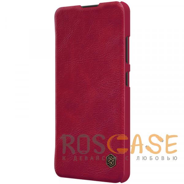 Изображение Красный Nillkin Qin   Чехол-книжка из Premium экокожи для Samsung Galaxy A32 4G