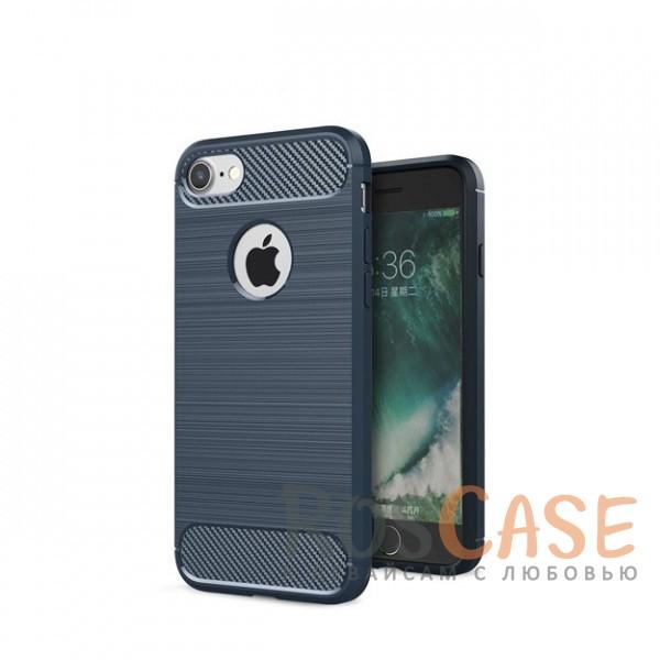 Ударопрочный матовый чехол c защитой от перегрева для Apple iPhone 7 (4.7) (Темно-синий)Описание:полностью совместим с Apple iPhone 7 (4.7);материал - термополиуретан;ультратонкий дизайн;тип - накладка.<br><br>Тип: Чехол<br>Бренд: Epik<br>Материал: TPU
