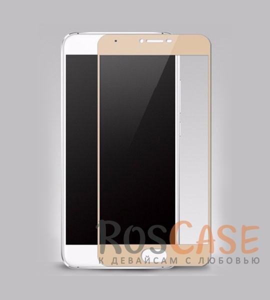 Защитное стекло CaseGuru Tempered Glass на весь экран для Meizu U20 (Золотой)<br><br>Тип: Защитное стекло<br>Бренд: CaseGuru