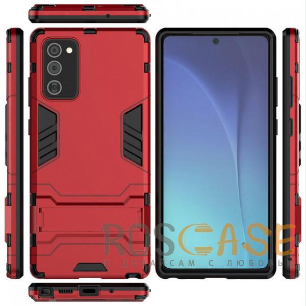 Изображение Красный Transformer   Противоударный чехол для Samsung Galaxy Note 20 с мощной защитой корпуса