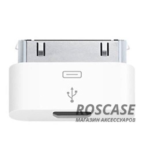 фото переходник Micro USB to 30 pin для Iphone/ipad
