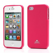фото TPU чехол Mercury Jelly Color series для Apple iPhone 4/4S