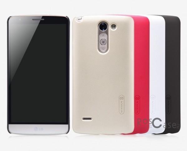 Чехол Nillkin Matte для LG D690 G3 Stylus Dual (+ пленка)Описание:разработчик и производитель&amp;nbsp;Nillkin;изготовлен из поликарбоната;поверхность матовая;тип конструкции: накладка;совместим с LG D690 G3 Stylus Dual.&amp;nbsp;Особенности:широкая цветовая гамма;высокая износостойкость;ультратонкий;легкая фиксация;легкая очистка.<br><br>Тип: Чехол<br>Бренд: Nillkin<br>Материал: Поликарбонат