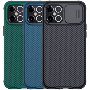 Nillkin CamShield Pro   Чехол из пластика и TPU с защитой камеры для iPhone 12 Pro Max