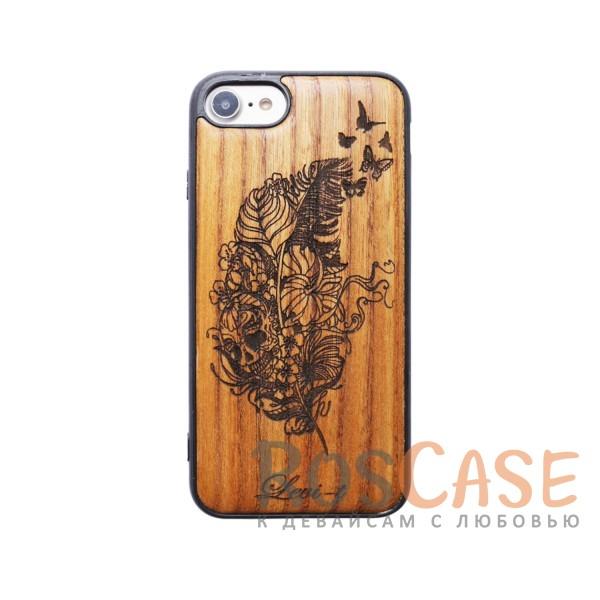 """Изображение Череп Buddy   Чехол с деревянной вставкой ручной работы для Apple iPhone 7 / 8 (4.7"""")"""