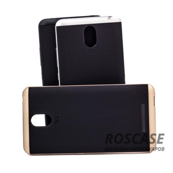Двухкомпонентный чехол iPaky (original) Hybrid со вставкой цвета металлик для Xiaomi Redmi Note 2 / Redmi Note 2 PrimeОписание:компания-разработчик: iPaky;совместимость с устройством модели: Xiaomi Redmi Note 2 / Redmi Note 2 Prime;материал изделия: термопластический полиуретан, поликарбонат;конфигурация: накладка-бампер.Особенности:элегантный дизайн;высокий класс прочности и износоустойчивости;легко и надежно фиксируется на смартфоне;имеет все необходимые функциональные вырезы.<br><br>Тип: Чехол<br>Бренд: iPaky<br>Материал: TPU