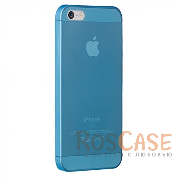 фото ультратонкая пластиковая накладка Ozaki O!coat 0.3 Jelly Series для Apple iPhone 5 (+ пленка)