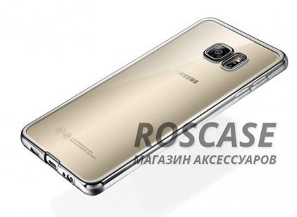 Прозрачный силиконовый чехол для Samsung G930F Galaxy S7 с глянцевой окантовкой (Серебряный)Описание:подходит для Samsung G930F Galaxy S7;материал - силикон;тип - накладка.Особенности:глянцевая окантовка;прозрачный центр;гибкий;все вырезы в наличии;не скользит в руках;ультратонкий.<br><br>Тип: Чехол<br>Бренд: Epik<br>Материал: Силикон