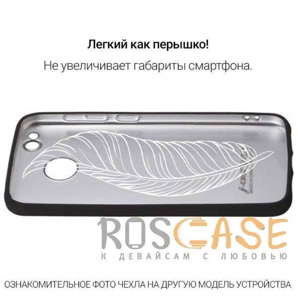 Фотография Черный J-Case THIN | Гибкий силиконовый чехол для Xiaomi Redmi 5
