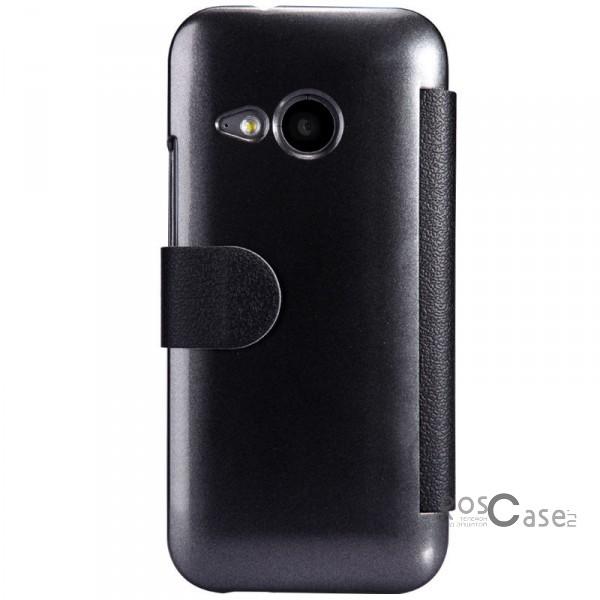 Кожаный чехол (книжка) Nillkin Fresh Series для HTC One mini 2 (Черный)Описание:Изготовлен компанией Nillkin;Спроектирован персонально для HTC One One mini 2;Материал: синтетическая высококачественная кожа и поликарбонат;Форма: чехол в виде книжки.Особенности:Исключается появление царапин и возникновение потертостей;Восхитительная амортизация при любом ударе;Фактурная поверхность;Не подвергается деформации;Непритязателен в уходе.<br><br>Тип: Чехол<br>Бренд: Nillkin<br>Материал: Искусственная кожа