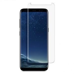 Прозрачное защитное стекло с закругленными краями и олеофобным покрытием для Samsung G950 Galaxy S8