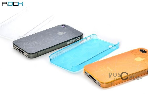 Пластиковая накладка ROCK Dazzling Series для Iphone 4/4S